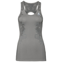 CERAMICOOL BLACKCOMB PRO Baselayer Top, odlo concrete grey - odlo silver grey - black, large