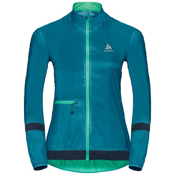 Jacket FUJIN, crystal teal - pool green, large