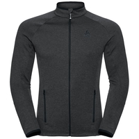 Men's PROITA Full-Zip Midlayer Top, odlo graphite grey, large