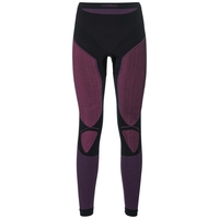Pants Evolution X-Warm, black - pink glo, large