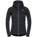 Jacket insulated SARA COCOON, black, large
