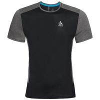 Men's NIKKO ACTIVE Base Layer T-Shirt, black - silver, large