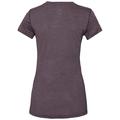 Damen NATURAL + LIGHT Funktionsunterwäsche T-Shirt, plum perfect - quail, large