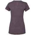 Women's NATURAL + LIGHT Base Layer T-Shirt, plum perfect - quail, large