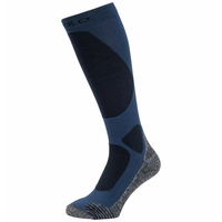 Unisex ACTIVE WARM ELEMENT Skisocken, estate blue, large