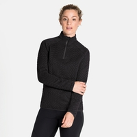 Women's CORVIGLIA KINSHIP Midlayer, black, large
