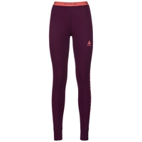 Collant baselayer Revelstoke Warm femme, pickled beet - hot coral, large