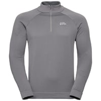 Midlayer 1/2 zip MARTIN, odlo concrete grey, large