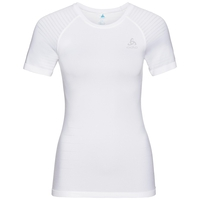 Women's PERFORMANCE LIGHT Base Layer T-Shirt, white, large