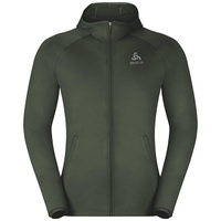 Hoody midlayer full zip PULSE, climbing ivy, large