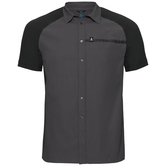 Shirt s/s SAIKAI COOL PRO, odlo graphite grey - black, large