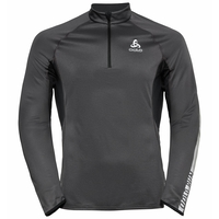 Men's ZEROWEIGHT CERAMIWARM 1/2 Zip Midlayer, black, large
