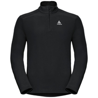 Men's BERNINA 1/2 Zip Midlayer, black, large