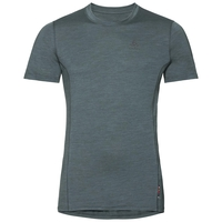 Men's NATURAL + LIGHT Short-Sleeve Base Layer Top, arctic - dark slate, large