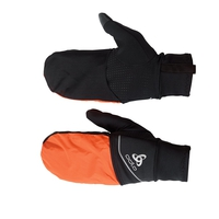 INTENSITY COVER SAFETY LIGHT Handschuhe, black - orange clown fish, large