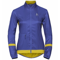 Women's ZEROWEIGHT Cycling Jacket, clematis blue - antique moss, large