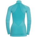EVOLUTION WARM baselayer shirt half-zip, blue radiance - bluebird, large