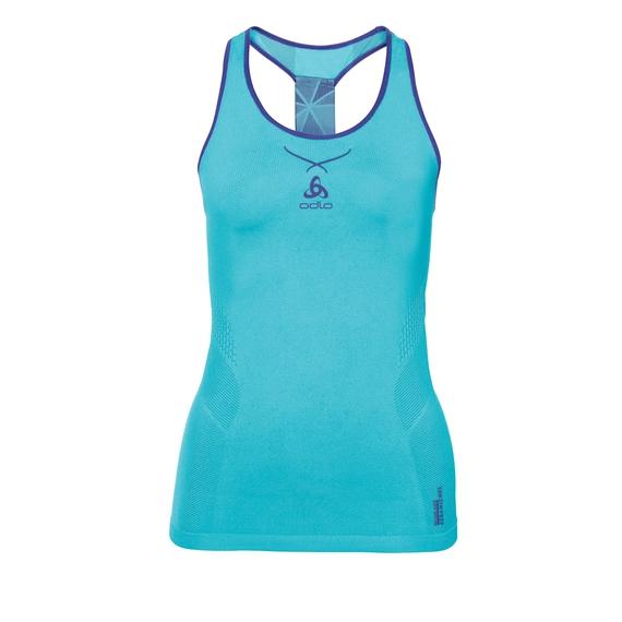 3366654f Ceramicool seamless baselayer singlet women, blue radiance - spectrum blue,  large