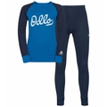 Completo Base Layer Set ACTIVE WARM ECO TREND KIDS per bambini, diving navy - directoire blue - graphic FW20, large
