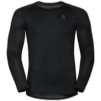 Maglia Base Layer a manica lunga ACTIVE F-DRY LIGHT da uomo, black, large