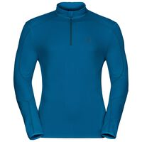 Midlayer 1/2 zip LA MOLINA, mykonos blue, large