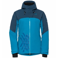 Jacket insulated SLY X, poseidon - blue jewel, large