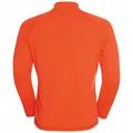 Men's FLI LIGHT Full-Zip Mid Layer, exuberant orange, large