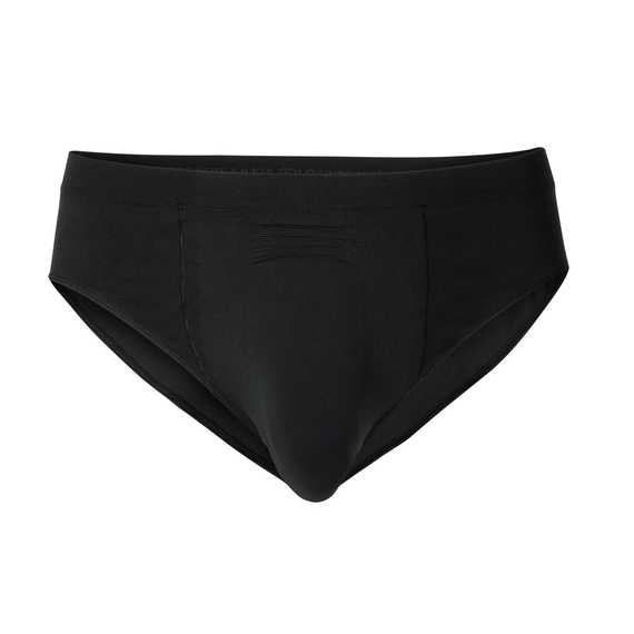 SUW Bottom Brief PERFORMANCE Light, black - odlo graphite grey, large