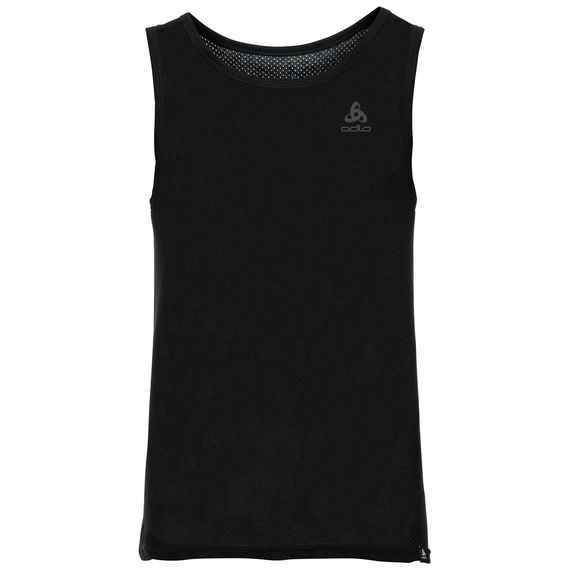 SUW TOP Crew neck Singlet X-LIGHT, black, large
