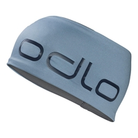 Fascia Ceramiwarm Revers, faded denim - odlo steel grey, large