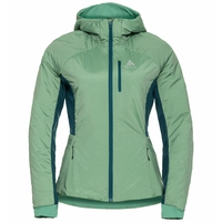 Damen MILLENNIUM X WARM Jacke, malachite green melange, large