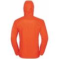Herren WISP WINDPROOF Jacke, mandarin red, large