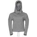Hoody midlayer MAIA, grey melange, large