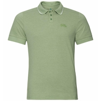 Men's NIKKO Polo Shirt, green eyes melange, large