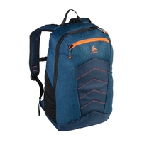 Active Rucksack-23 Liters, mykonos blue - orangeade, large
