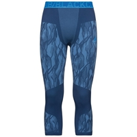 Herren BLACKCOMB Funktionsunterwäsche 3/4 Hose, estate blue - directoire blue - directoire blue, large