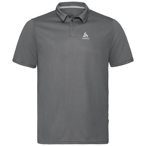 F-DRY Poloshirt, odlo steel grey, large