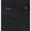 SLIQ 3/4 running tights, black, large