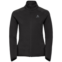 Midlayer full zip CARVE Warm, black, large