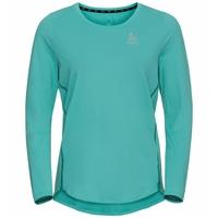 ZEROWEIGHT CHILL-TEC-hardloop-T-shirt met lange mouwen voor dames, jaded, large