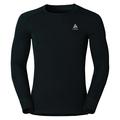 Men's ACTIVE WARM Long-Sleeve Base Layer Top, black, large