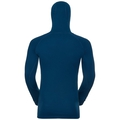 SUW Top with Facemask l /s ACTIVE  Revelstoke Warm, poseidon - blue jewel, large