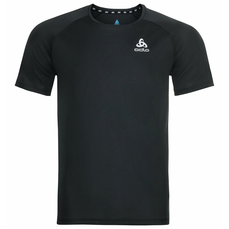 Men's ESSENTIAL CHILL-TEC T-Shirt, black, large