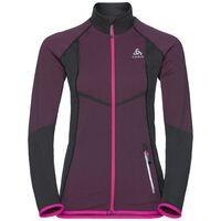 Jacket VELOCITY Light, odlo graphite grey - pink glo, large