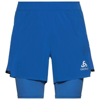 2-in-1 Shorts ZEROWEIGHT CERAMICOOL PRO, nebulas blue - nebulas blue, large
