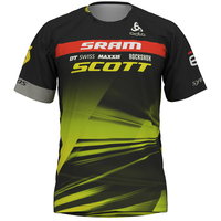 Scott-Sram MTB maglia del team, SCOTT SRAM 2019, large
