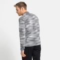 Herren FLI LIGHT PRINT Fleecejacke, odlo silver grey - graphic SS21, large