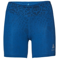 BL Bottom Shorts OMNIUS Print, diving navy - energy blue, large