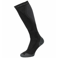 CERAMIWARM Ski Over-the-Calf Socks, black - odlo graphite grey, large