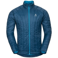 Jacket insulated FLOW COCOON ZW, poseidon, large